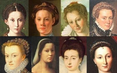 Прически франции 19 век